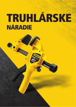 STANLEY Tesárske náradie 1,7 MB 2014 SR