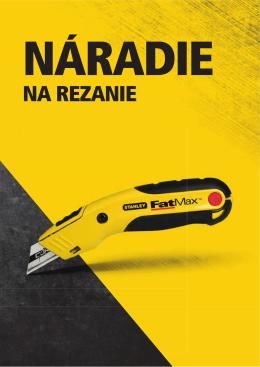STANLEY Rezanie 2,3 MB 2014 SR