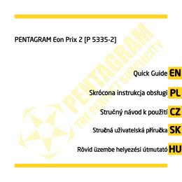 PENTAGRAM EON PRIX [P 5335-2]