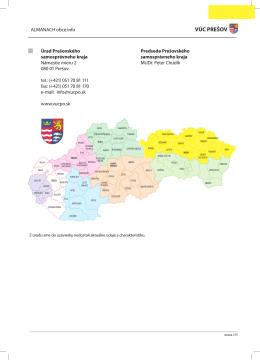 VÚC PREŠOV - Obce.info