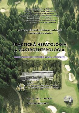 praktická hepatológia a gastroenterológia