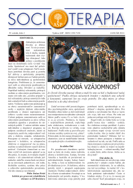 Január 2014 - Socioterapia.sk