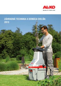 Záhradná technika a domáca dielňa 2013 - AL-KO