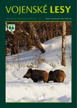 Časopis zamestnancov Vojenských lesov a majetkov sR, š.p. Ročník