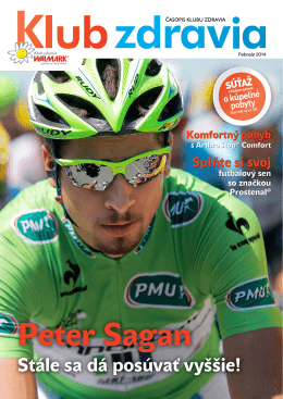 Časopis jar 2014 PDF - Klub zdravia Walmark