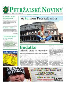 23.06.2012 - Petržalské Noviny