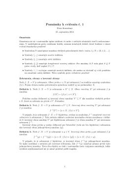 Poznámky k cvičeniu č. 1 - Formálne jazyky a automaty