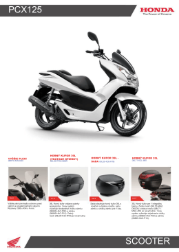 PCX125 SCOOTER