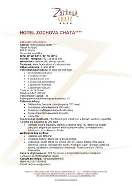 Stiahnuť - Hotel Zochova Chata