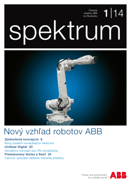 Spektrum 1/2014