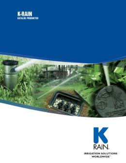 Katalóg produktov - K-Rain