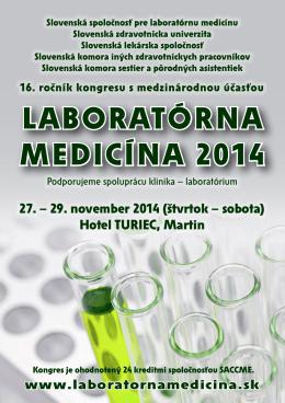 LABORATÓRNA MEDICÍNA 2014