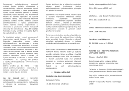  Zdravie a výživa ľudí - Považská knižnica v Považskej Bystrici