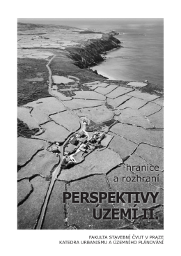 perspektivy území ii: hranice a rozhraní