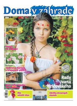Máj 2014 - Doma v zahrade