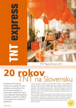 TNT na Slovensku