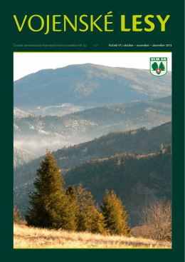 november – december 2013 - Vojenské lesy a majetky SR, š.p.