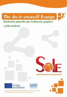 1. Informácie o programe Europe for Citizens