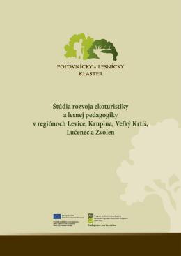 8 Stratégia rozvoja ekoturistiky a lesnej pedagogiky