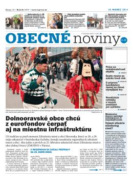 Dolnooravské obce chcú z eurofondov čerpať aj na