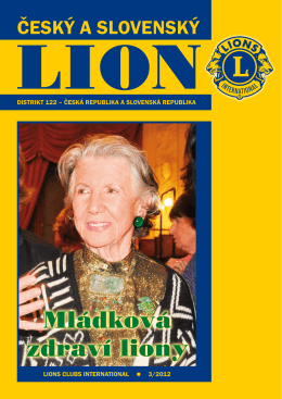 třetí - Lions Clubs International / Distrikt 122