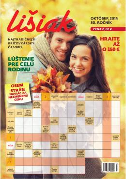 Október 2014 - Lišiak