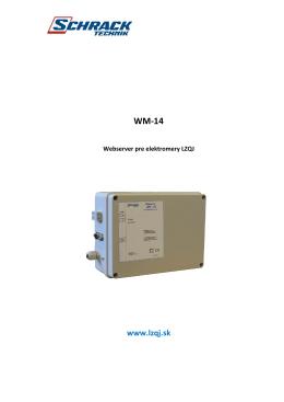 WM-14 - lzqj.sk
