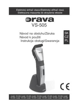 VS−505 - Orava