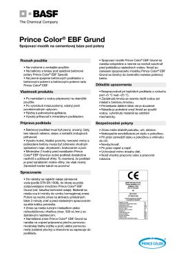 Prince Color® EBF Grund