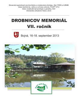 Untitled - DROBNICOV MEMORIÁL 7. ročník
