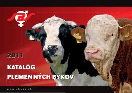 Kompletný katalóg býkov na rok 2011 (PDF; 15,4MB)