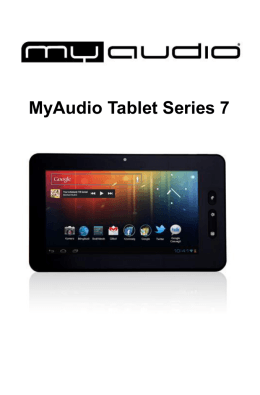 MyAudio Tablet Series 7