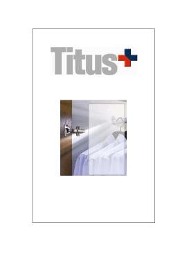 kovanie TITUS leták