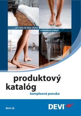 Produktový katalóg DEVI