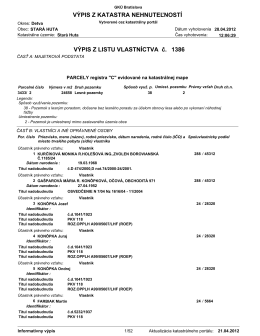 LV 1386 - Stará Huta