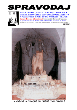 1.68. Spravodaj-Prva.1 - Spolok francúzsko