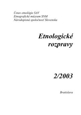 ER2003/2 - Zuzana Beňušková