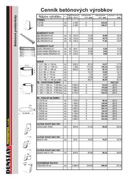 Stiahnite cenník (pdf - 4,12MB)