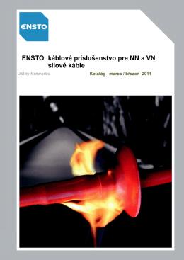 ENSTO káblové príslušenstvo pre NN a VN silové káble