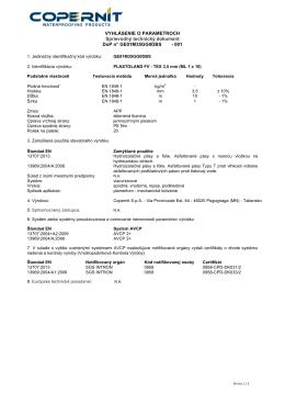 Plastoland FV – TEX 3,5 mm