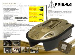 zavážacia loďka Prisma