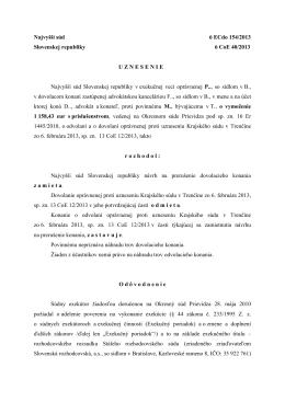 Najvyšší súd SR