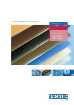 Skúšanie povrchov - PDF katalóg