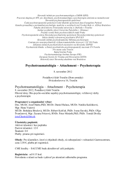 Slovenský inštitút pre psychotraumatológiu a EMDR (SIPE)