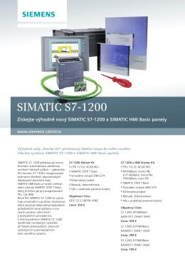 Simatic S7-1200 Starter Box