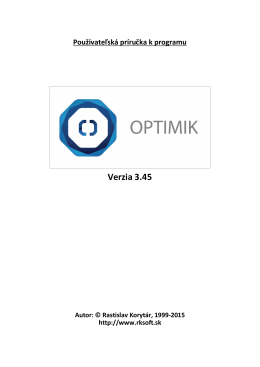 Optimik - RK Software