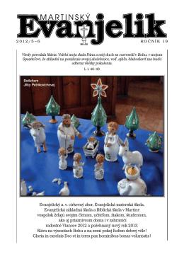 MARTINSKÝ EVANJELIK (.pdf)