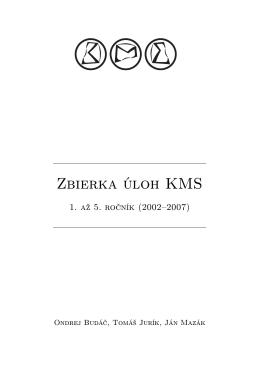 Zbierka úloh KMS, verzia na vytlačenie