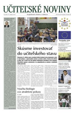 Ucitelske noviny_54_2014.indd - Domov