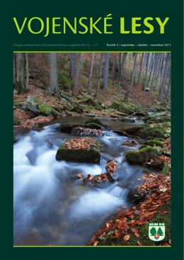 október - november 2011 - Vojenské lesy a majetky SR, š.p.